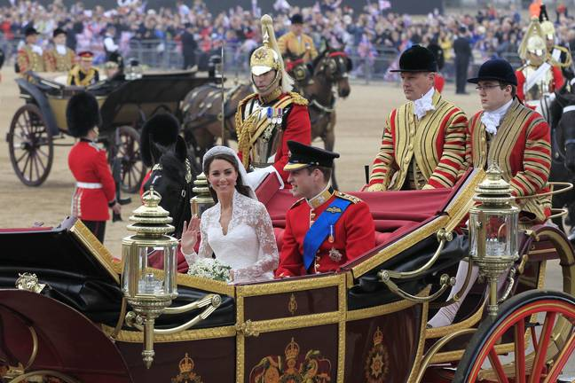 William and Kate's wedding was watched by millions of people across the world (Credit: PA)