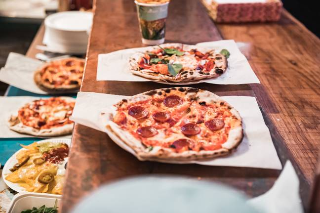 These pizzas look delicious! (Credit: Neverland London)