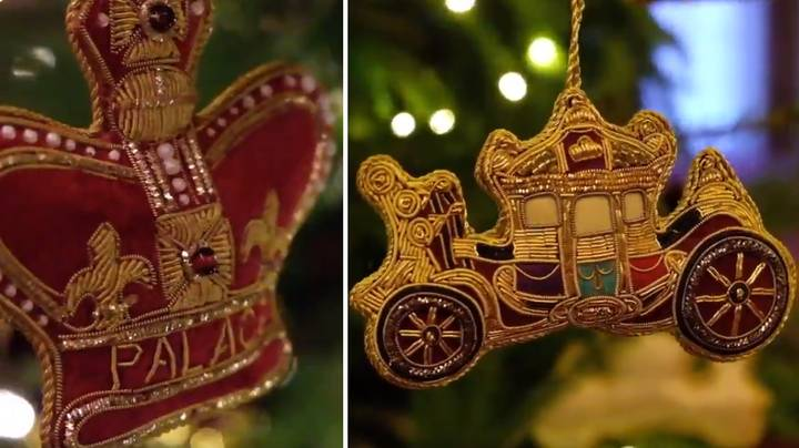 ​The Royal Family Just Debuted Their Christmas Decorations And They Are So Extra