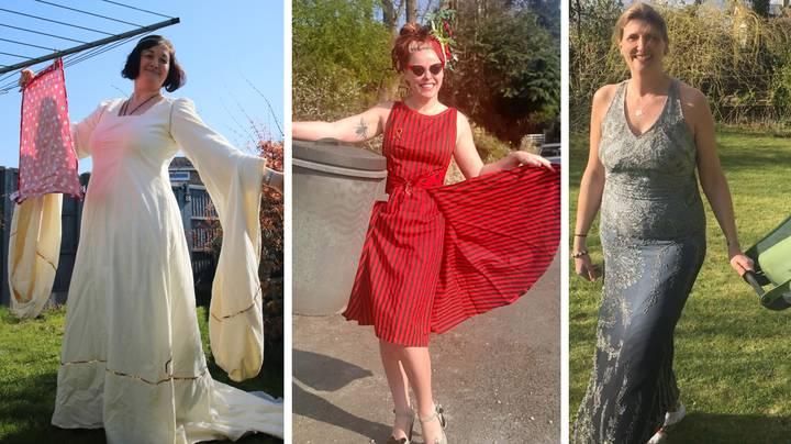 People Are Wearing Their Fanciest Clothes To Do Mundane Jobs