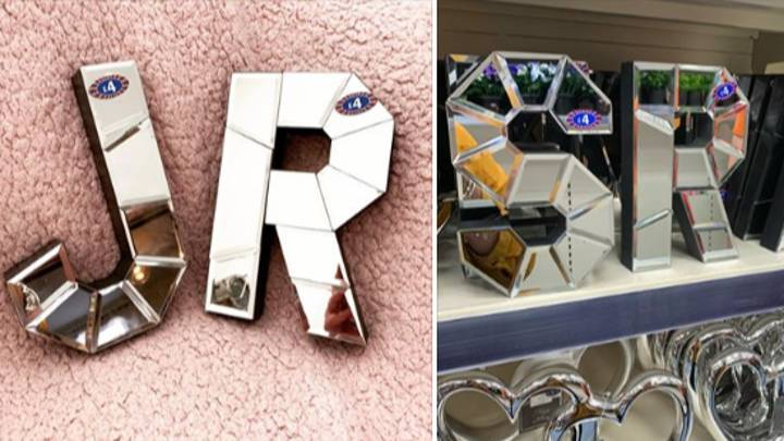 Shoppers Are Going Wild For B&M's New Bargain Mirrored Letters