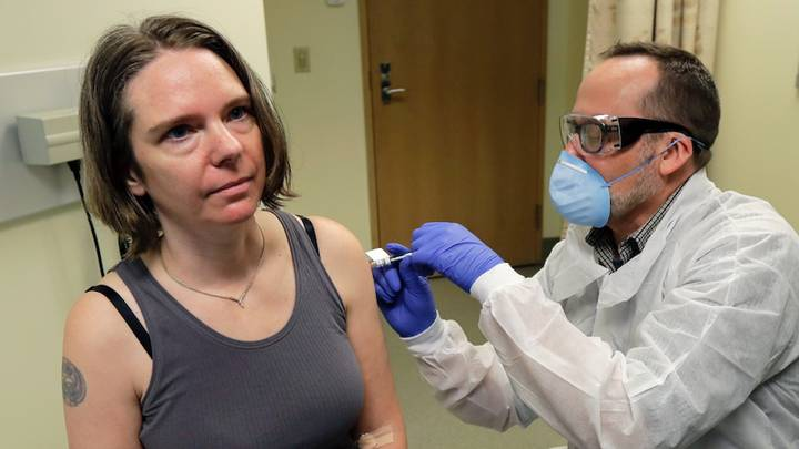 Mum Becomes First Person To Trial Experimental Coronavirus Vaccine