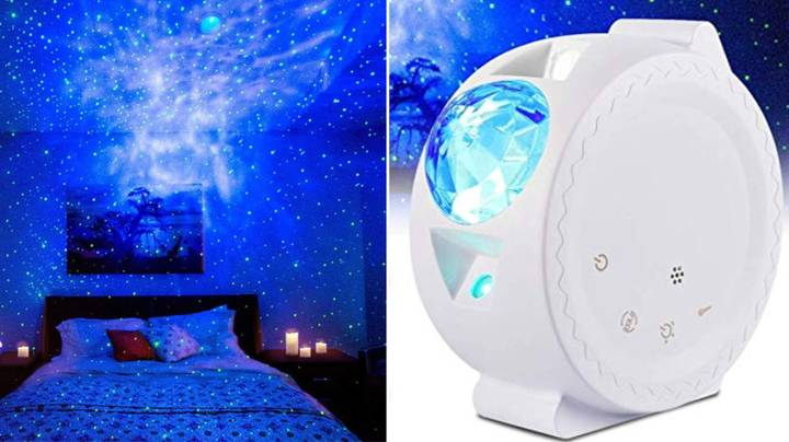 This Stunning Star Projector Lights Up Your Bedroom Like The Night's Sky