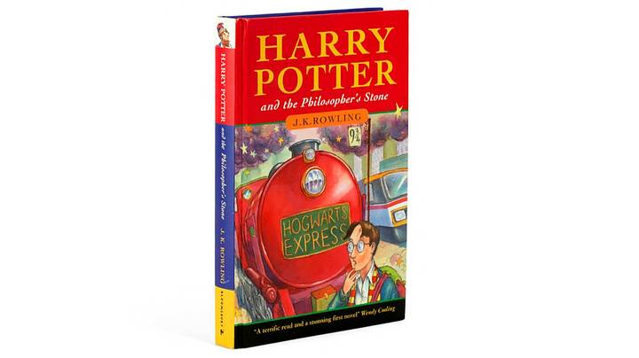 'Harry Potter' Book With Misspellings And Personal Notes Fetches £68,000 At Auction