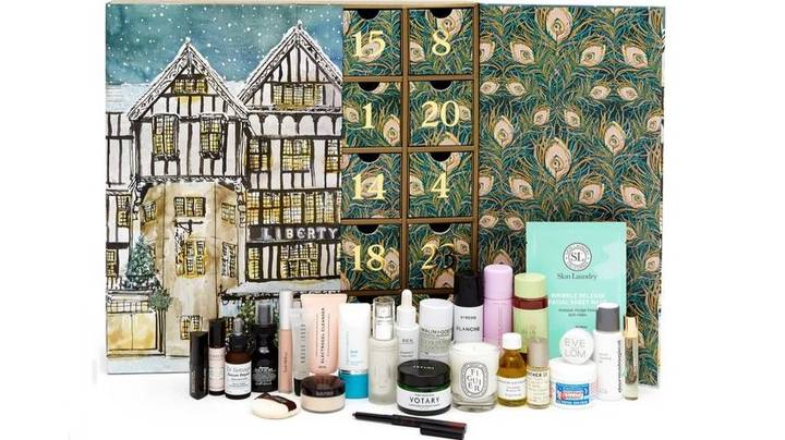 Liberty London's £195 Beauty Advent Calendar Is The Most Indulgent Yet