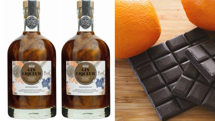 Morrisons Has Launched A Shimmery Chocolate Orange Gin For Christmas