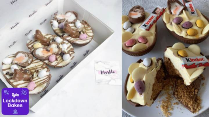 Lockdown Bakes: How To Make Stuffed Easter Egg Cheesecakes