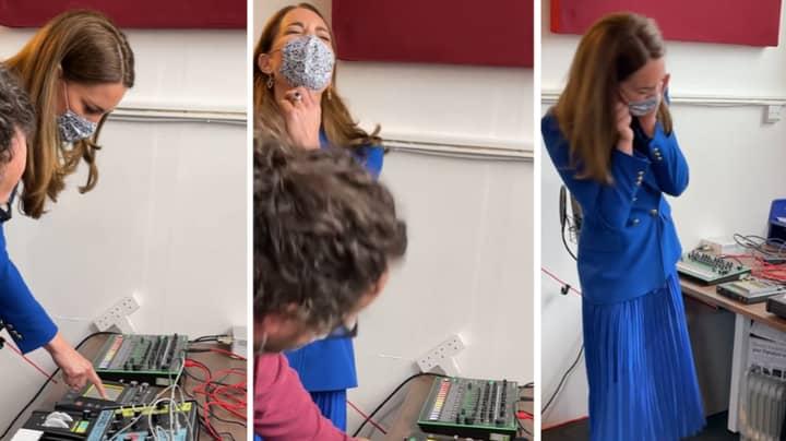 Prince William Mocks Wife Kate Middleton As She Has A Go On DJ Decks