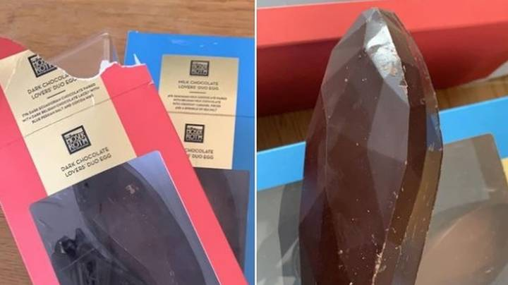 Mum Left Mortified After Accidentally Giving NSFW Aldi Easter Egg To Kids
