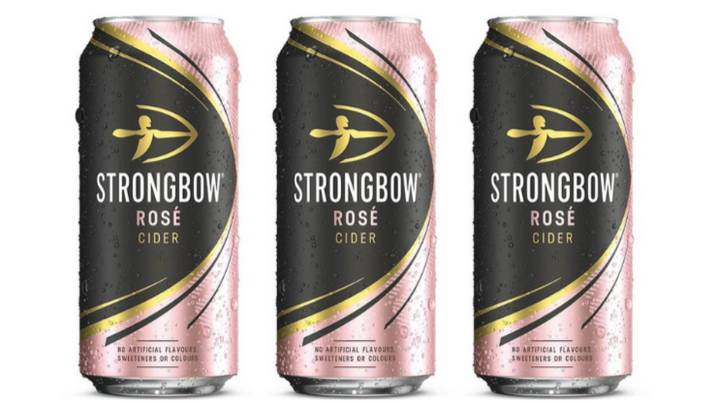 You Can Now Buy Strongbow Rosé Cider And It Looks Delicious
