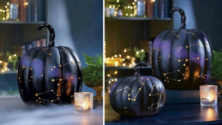 These Light-Up Constellation Pumpkins Make The Perfect Halloween Decor For The Spookiest Of Witches