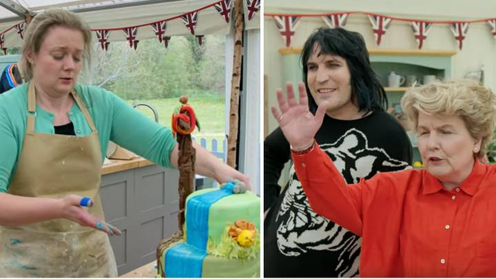 'GBBO' Shares A Preview Of Tonight's Cake Challenge And It's Absolute Mayhem In The Tent