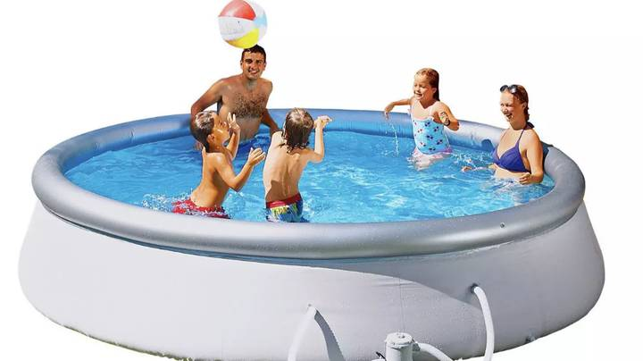 You Can Now Buy A 10ft Paddling Pool From Argos - And It's A Total Bargain