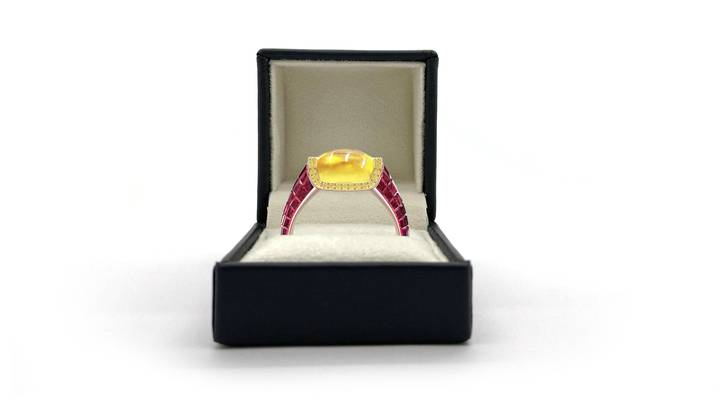 You Can Now Propose With An *Actual* Diamond-Encrusted Haribo Ring