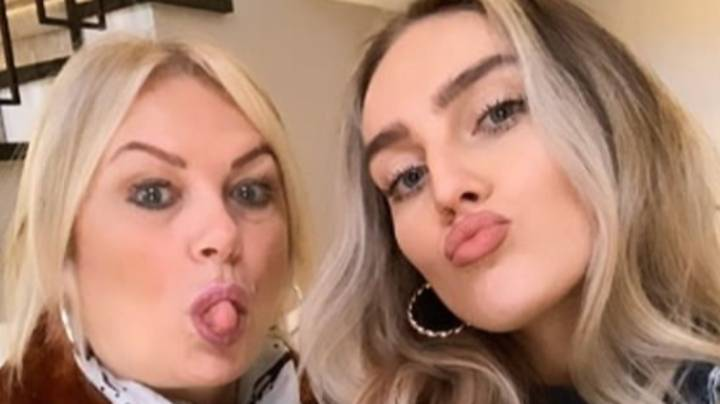 Perrie Edwards' Mum Deborah Accidentally Let Slip Her Baby News Last Week