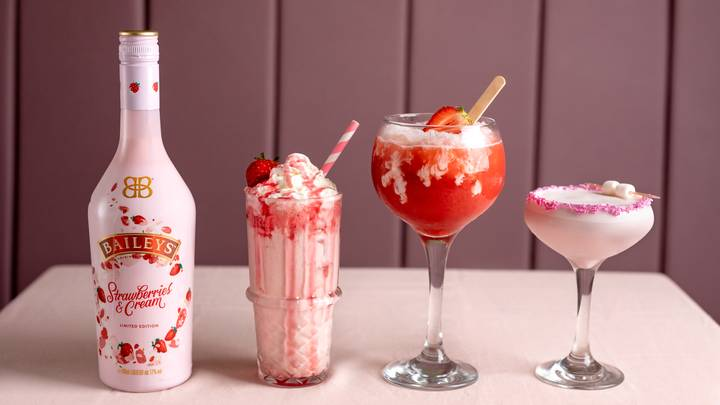 This UK Bar Is Launching Baileys Strawberries And Cream Martinis For Summer