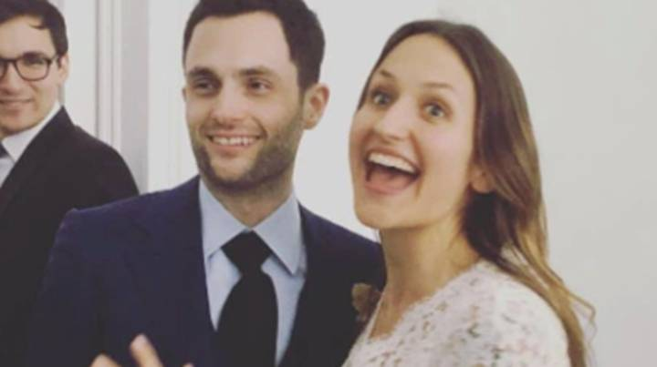 'You' Star Penn Badgley Announces His Wife Is Expecting A Baby