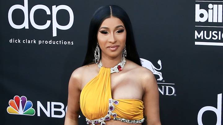 Cardi B Shares Snap Of Her Swollen Feet As She Vows Never To Have Surgery Again