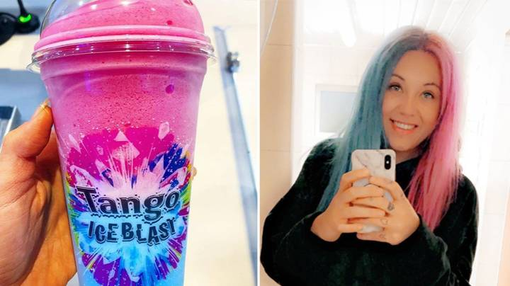 Everyone's Now Getting 'Tango Ice Blast' Hair - Here's How To Get The Look