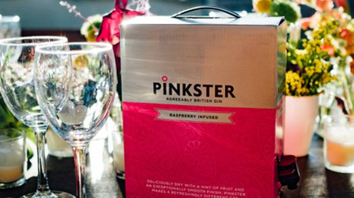 You Can Now Order A Three Litre Box Of Pink Gin