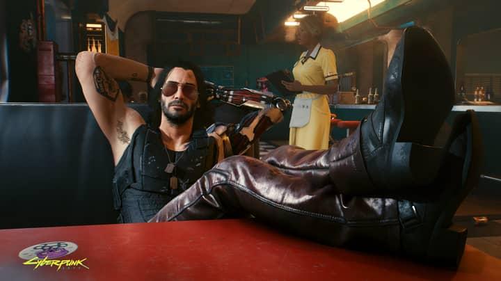 Keanu Reeves Is  As Johnny Silverhand In Cyberpunk 2077 Trailer
