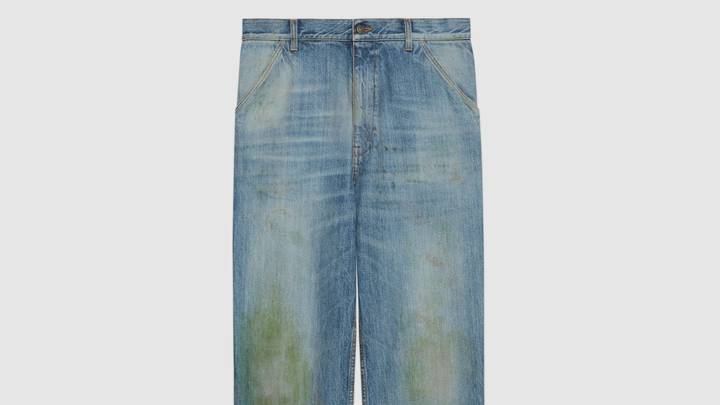 Gucci Is Selling Grass Stained Jeans For £600