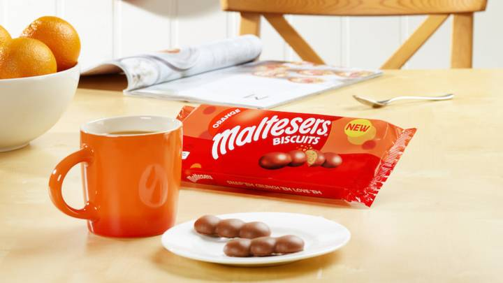 You Can Now Get Orange Flavour Maltesers Biscuits
