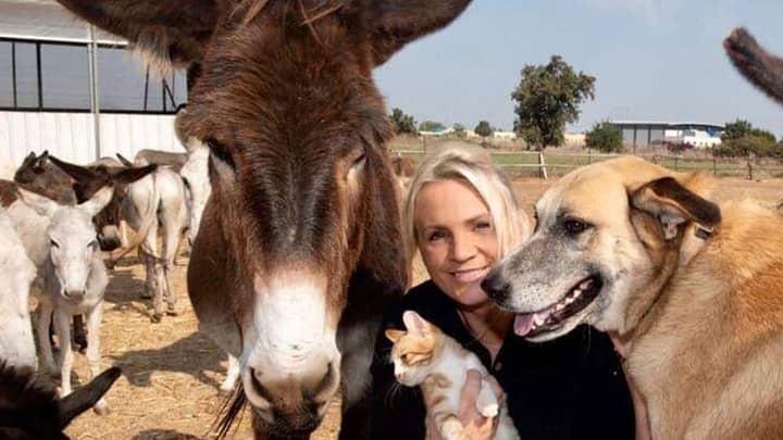 Woman Dedicates Her Entire Life To Saving Donkeys