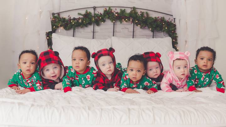 Two Mums From The Same Town Welcome Quadruplets Just Days Apart