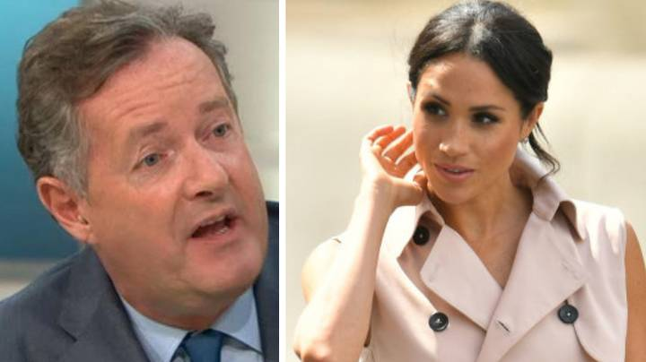 Piers Morgan Slams Meghan Markle For 'Not Speaking To Her Dad'