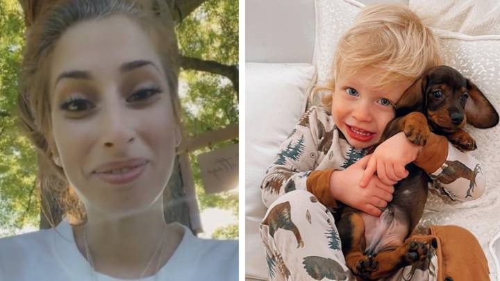 Stacey Solomon Fans Flood Her With Support As Baby Rex Is Rushed To A&E