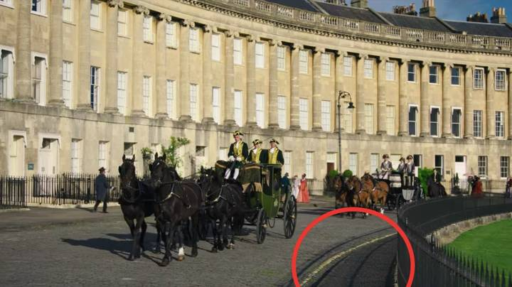 Bridgerton Fans Notice Yellow Parking Lines In Period Drama Blunder