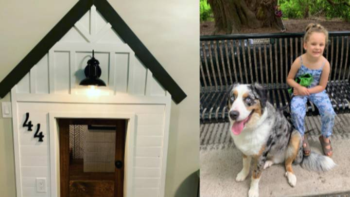 Woman Builds Miniature Replica Of Her Own Home For Her Dog