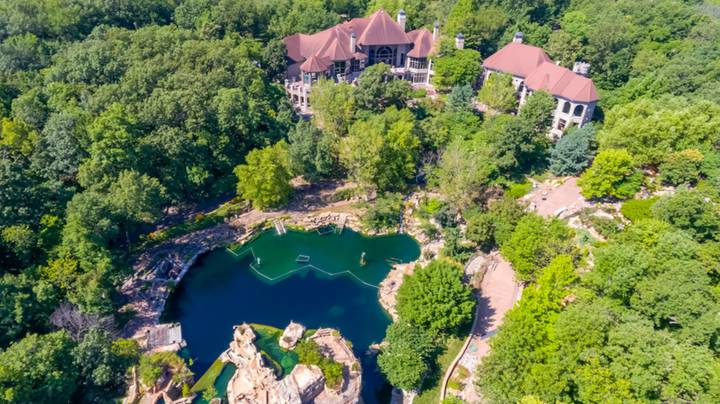 Incredible Mansion With Its Own Waterfalls And Scuba Tunnels Is Up For Sale