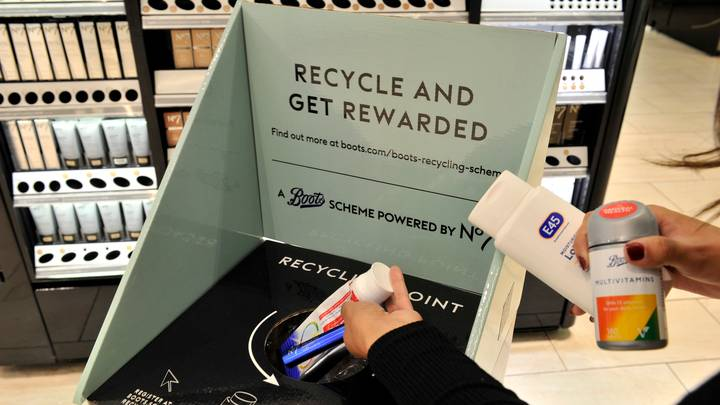 Boots Launches New In-Store Recycling Scheme Where You Can Earn 500 Advantage Card Points A Day