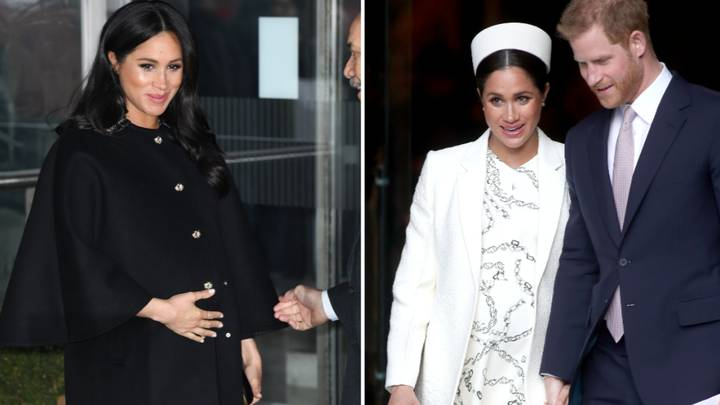 Meghan Markle In Labour With First Child