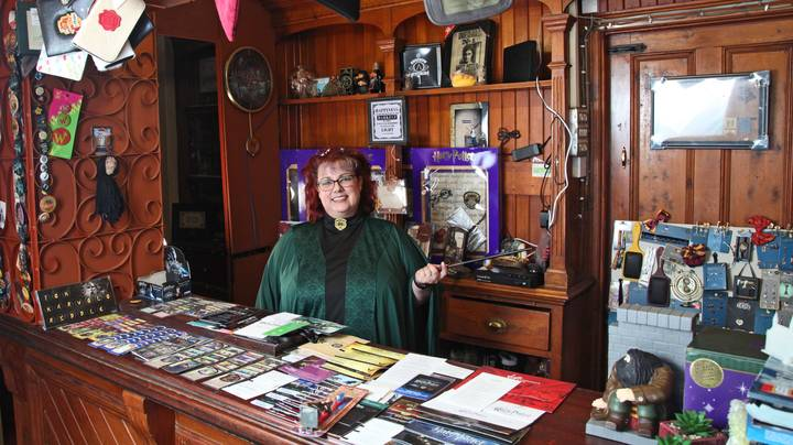 Harry Potter Superfan Moves Into 16 Bedroom House Just To Fit In Her £100K Collection
