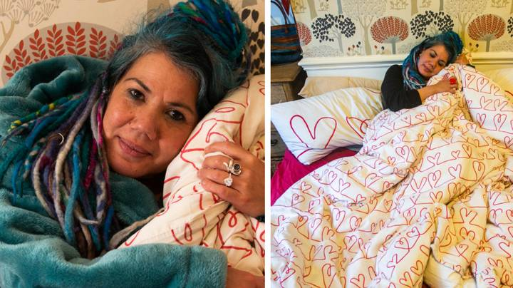 This Woman Is Getting Married To Her Duvet And It's So Relatable