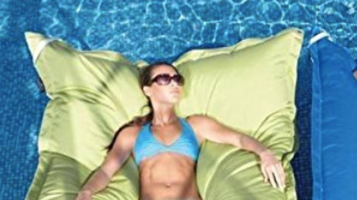 You Can Now Buy A Massive Bean Bag Pool Float And It Looks Comfy AF