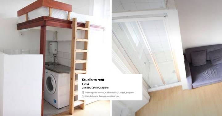 People Are Losing It Over This £750-A-Month 'Studio Apartment' In London