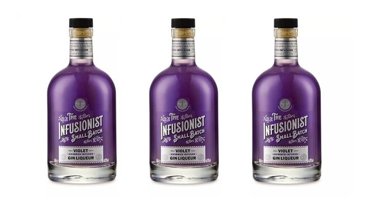 Aldi Is Selling Glittery Parma Violet Flavour Gin And For Just £9.99