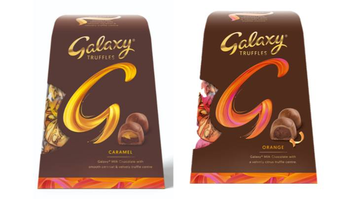 Galaxy Is Launching New Caramel And Orange Truffle Flavours For Christmas
