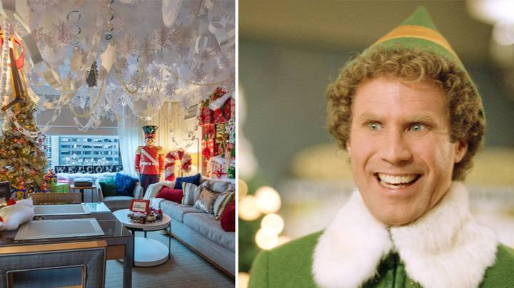 You Can Now Stay In An 'Elf' Inspired Hotel Room And It's Magical