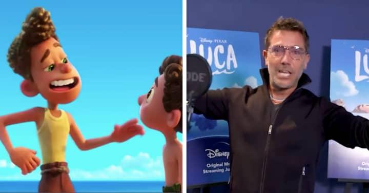 Gino D'Acampo Is Starring In New Disney Pixar Movie Luca