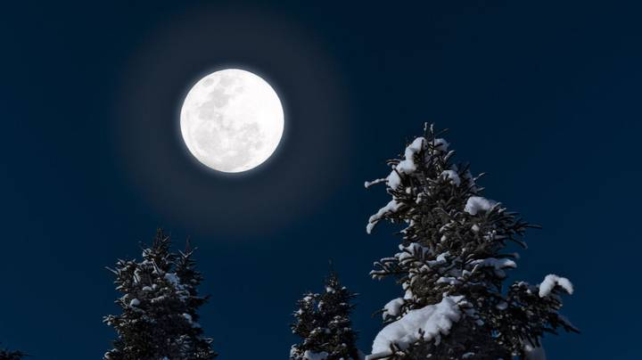 There's Going To Be A Full Cold Moon Tonight