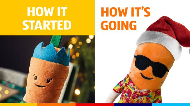 Aldi launches Limited Edition Malibu Kevin The Carrot For Junemas