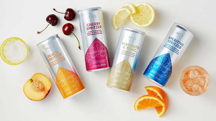 M&S Launch Four New Cocktail In A Can Flavours Just In Time For Summer
