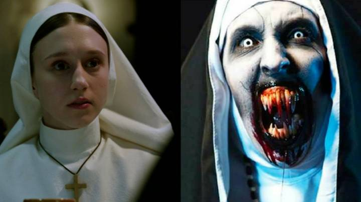 YouTube Remove Advert For The Nun Because It's Too Scary