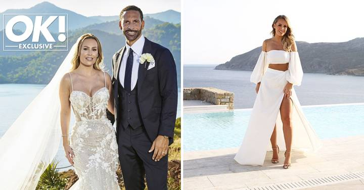 Inside Kate Wright and Rio Ferdinand's Lavish Three-Day Wedding At Turkish Resort