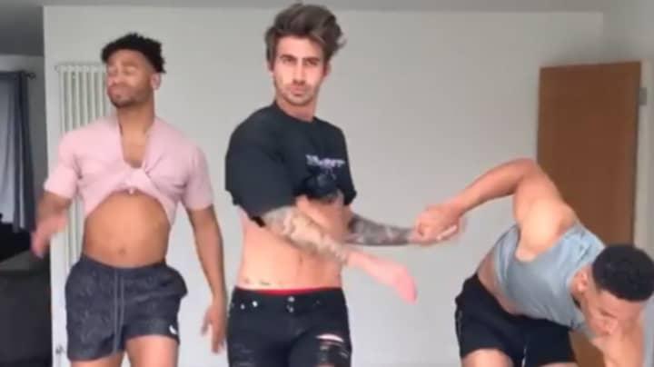 'Love Island' Star Danny Williams Breaks His Ankle Doing TikTok Dance In Heels